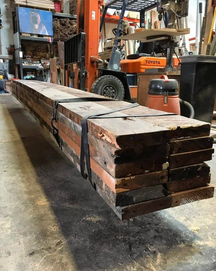 Reclaimed Wood Salvage in Portland, Oregon